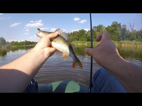 Тест надувной мини- лодки, или Finval нервно курит😂 + рыбалочка