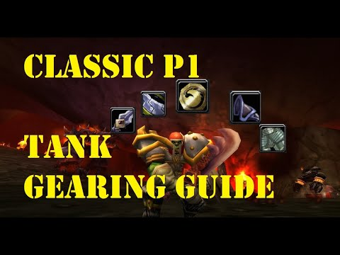 Gear Your Tank FAST! Prot Warrior Phase 1 Gearing Guide