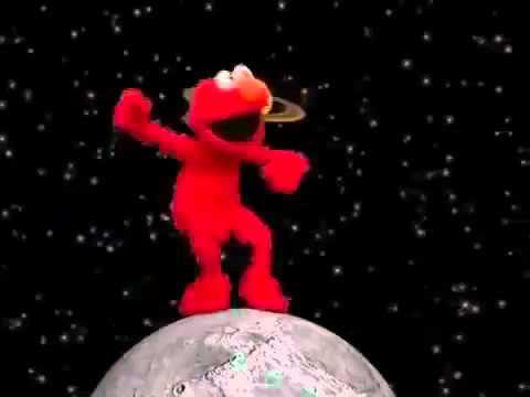Elmo Dances To Work Rihanna