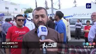 مسيرة بمخيم الوحدات احتجاجا على وقف تمويل الأونروا - (7-9-2018)