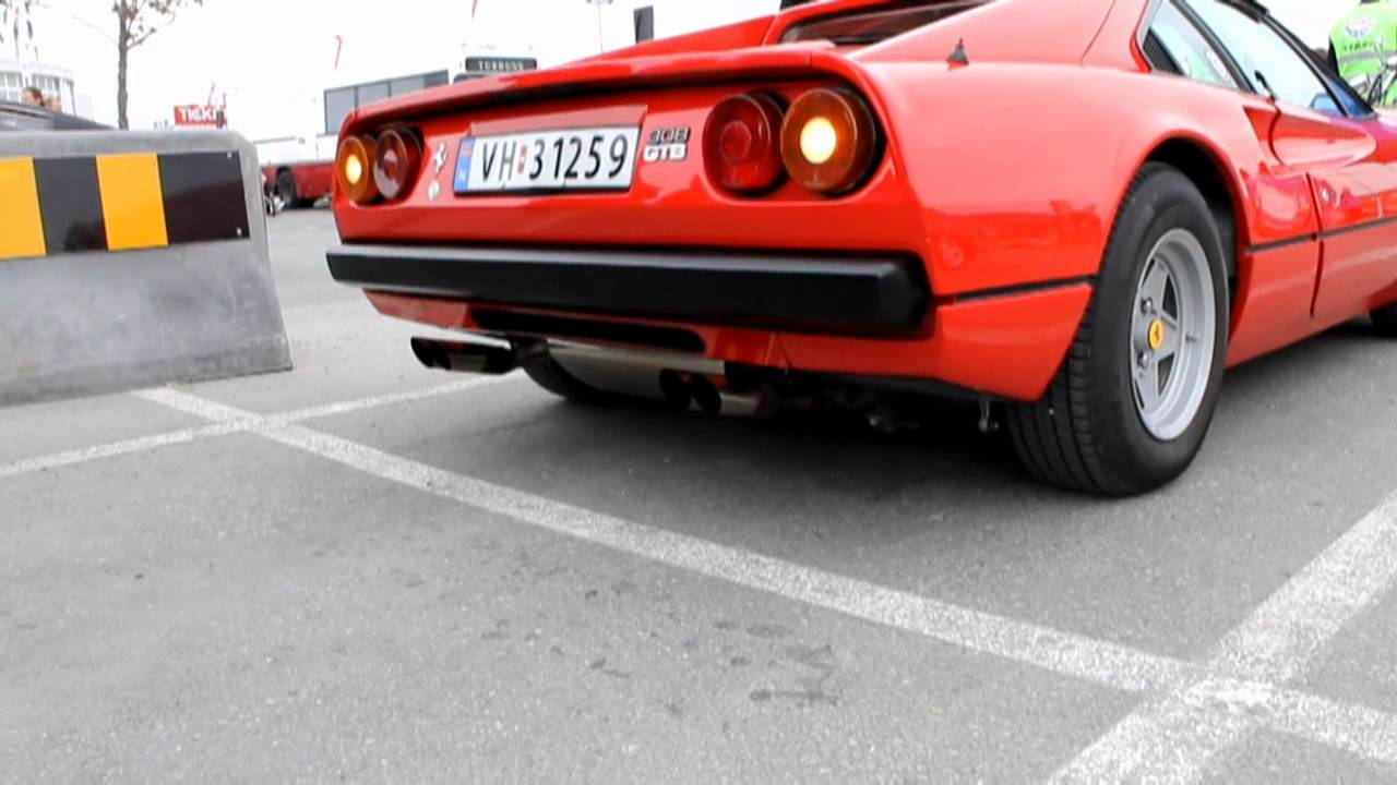 ferrari 308 gtb mille miglia exhaust extremely loud sound youtube. Black Bedroom Furniture Sets. Home Design Ideas