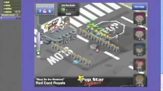 Cross platform HTML5 game Pop Star Defense demoed