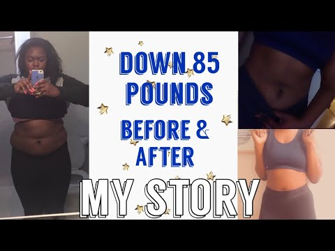 My Weight-loss Transformation Photos| 85 Pounds Down