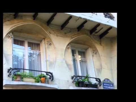 Hector Guimard Art Nouveau Paris
