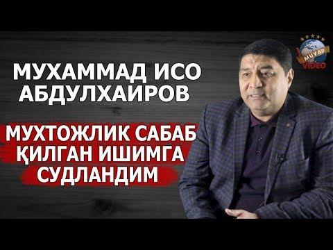 Muhammad Iso Abdulxairov - Hayosiz Roli Va Unga Qilingan Qaltis Tuxmat Haqida