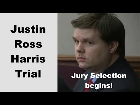 Justin Ross Harris Trial Jury Selection Day 1 Part 1 09/12/16