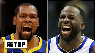 Do you believe Draymond Green that Kevin Durant doesn't give the Warriors extra motivation? | Get Up