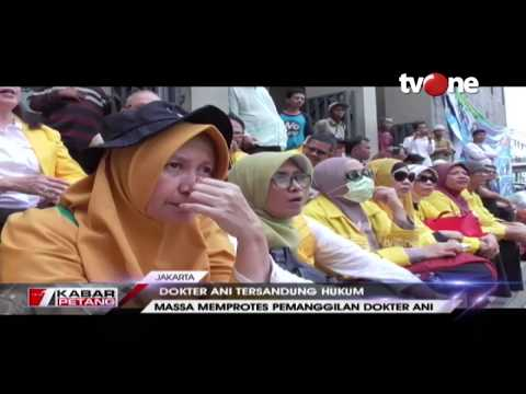 Ikatan Keluarga Besar UI Gelar Aksi Solidaritas Memprotes Pemanggilan Dokter Ani