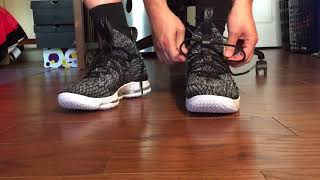 Lebron 15 on foot! How they FIT