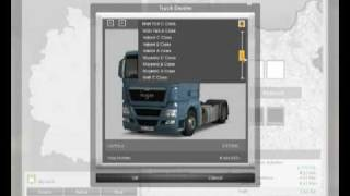 German Truck Simulator - gameplay - garage management.flv