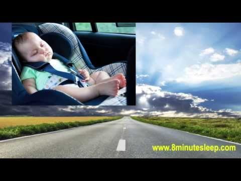 BABY SLEEP   Sleepy Baby Car Ride   Calm Colicky Infant   White Noise 10 Hours
