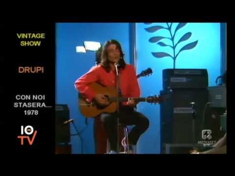 Drupi - Sereno è (Live 1978)