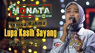Download Mp3 New Monata - Lupa Kasih Sayang  - Annisa Rahma   Cipt Johan Fero
