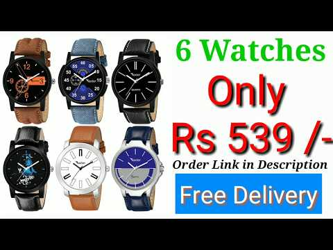 Mens Watches | 6 Watches Only Rs 539/- Best Mens Watches 2019 | Online Shopping