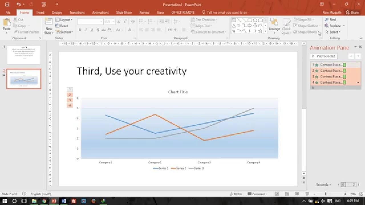 Powerpoint tutorial how to make line chart animation cara membuat powerpoint tutorial how to make line chart animation cara membuat animasi diagram garis ccuart Images