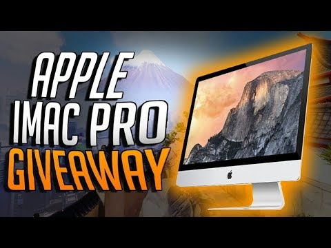 Apple Imac pro Giveaway Contest free || Apple Imac pro Review/Unboxing