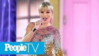 Taylor Swift's Fans Defend Her After She's Accused Of Copying Beyoncé's At BBMAs | PeopleTV