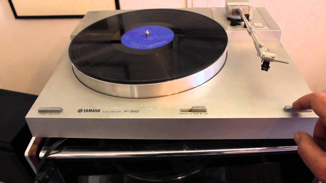 Yamaha P Turntable