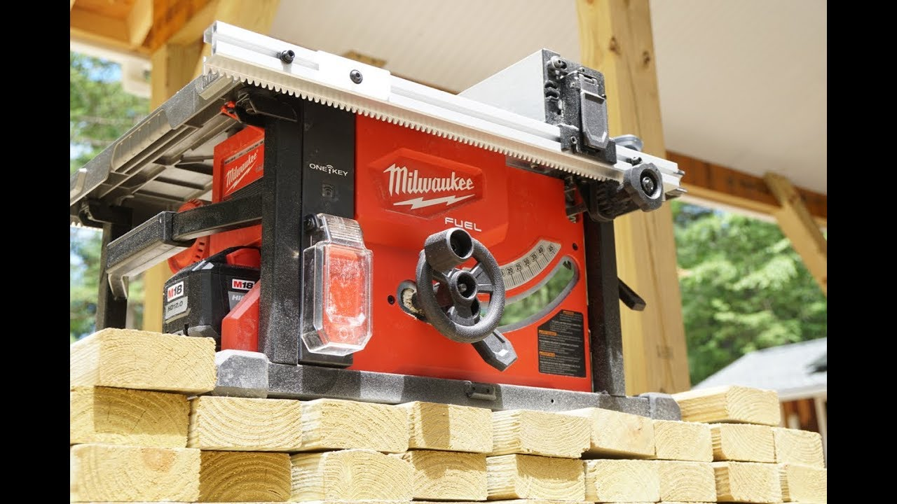 Milwaukee M18 FUEL Cordless 8 1 4 Table Saw Review