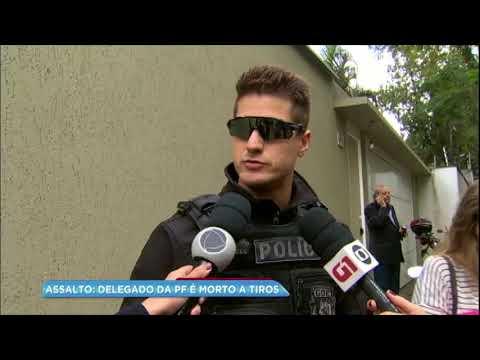 Delegado da Polícia Federal é morto a tiros dentro de casa