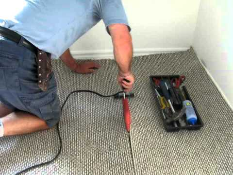 Installing Carpet Tools Youtube