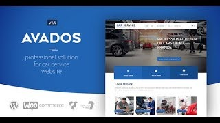 Avados Car Service WordPress Theme