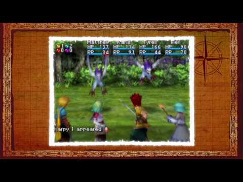 Golden Sun: Dark Dawn (DS) English Trailer