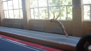 Ганжела Егор проходит квалификационные прыжки