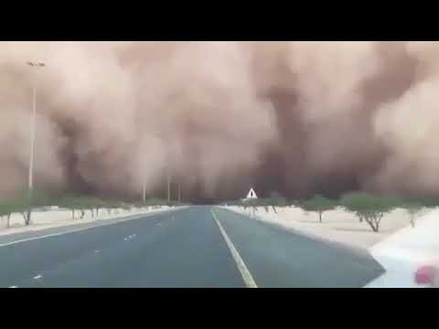 Dust storm hits Kuwait