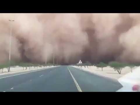 Dust storm hits Kuwait