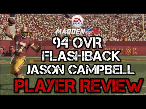 94 OVR Flashback Jason Campbell  | Player Review | Madden 16 Ultimate Team Gameplay | MUT 16