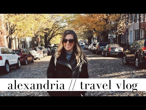 Visit My Hometown with Me | Old Town Alexandria, Virginia Travel Vlog