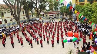 Dân vũ Việt Nam ơi chào đón 20/11- Kỉ niệm 15 năm thành lập trường của học sinh THPT Vĩnh Tường