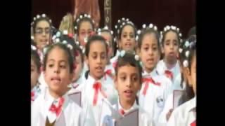 كورال ابتدائى مارمرقس وعظة القمص ارميا بولس 2/12/2016