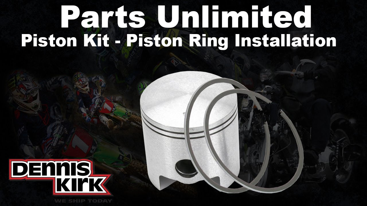 hight resolution of how to install snowmobile piston rings parts unlmited piston kits youtube