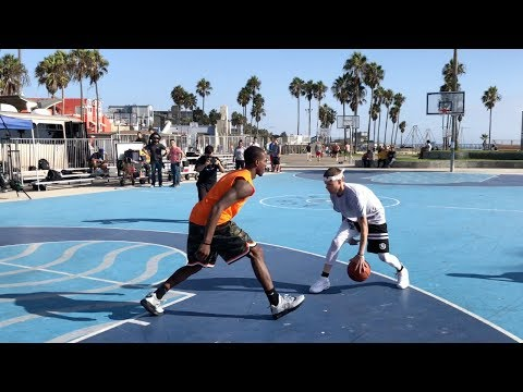 "The Professor Vs Pro Competition At Venice Beach.. DESTROYS 6'3"" Hooper"