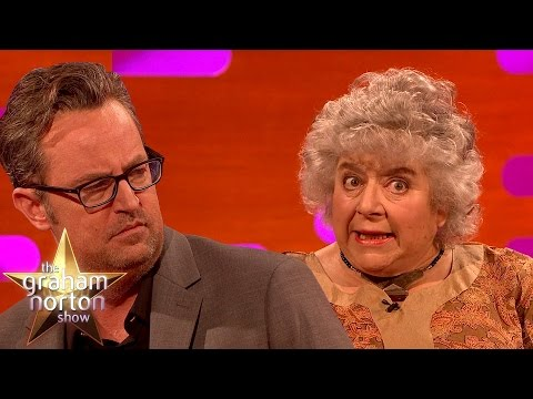 Miriam Margolyes Doesn't Like The Woman Who Wrote Friends  The Graham Norton