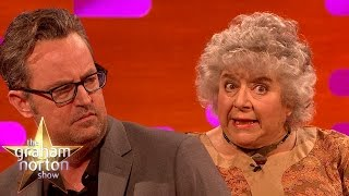 Miriam Margolyes Doesn't Like The Woman Who Wrote Friends - The Graham Norton Show