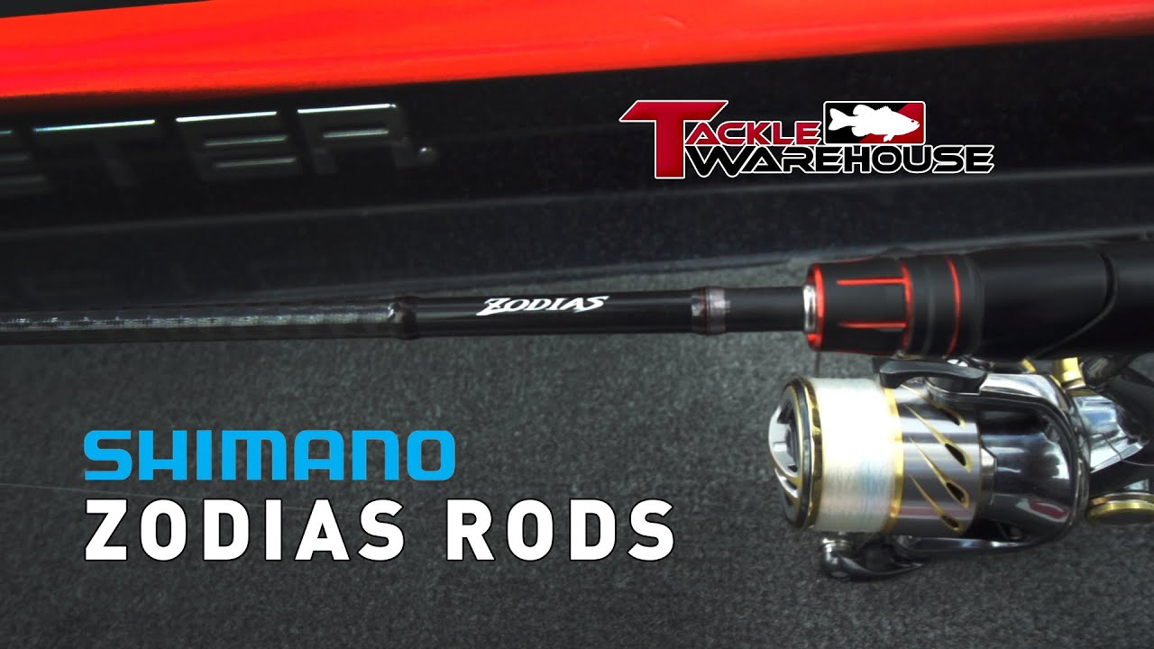 Shimano Zodias Casting and Spinning Rod Product Overview