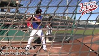 Matt Reynolds AFL Batting Practice Session, Inf, New York Mets