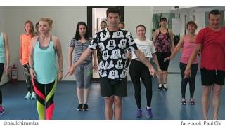 Elvis Crespo- Pintame - Zumba fitness choreo by Paul Chi