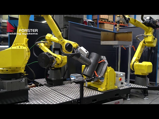 Roboter-Schweißen-Schneiden