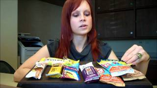 Amanda Compares #16- Healthy Protein Bars Thumbnail