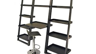 Awesome Black Ladder Shelf