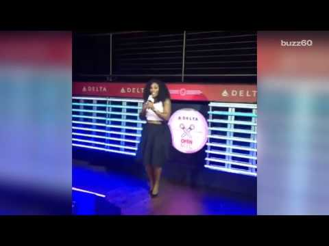 Serena Williams aces 'Under the Sea' cover at US Open karaoke