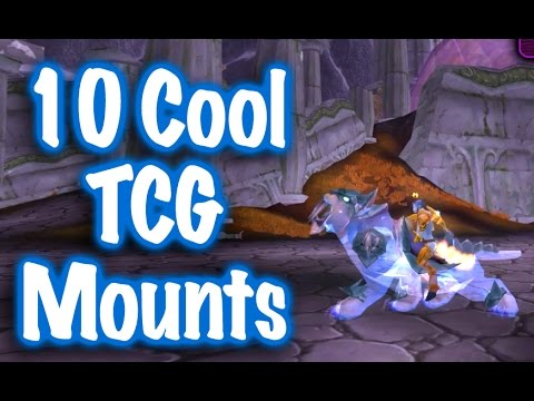 how to get cool mounts wow