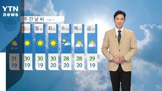 [날씨] 내일 불볕더위...자외선 지수 '매우 높음' / YTN