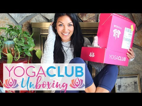 YogaClub Try-On + UNBOXING!!