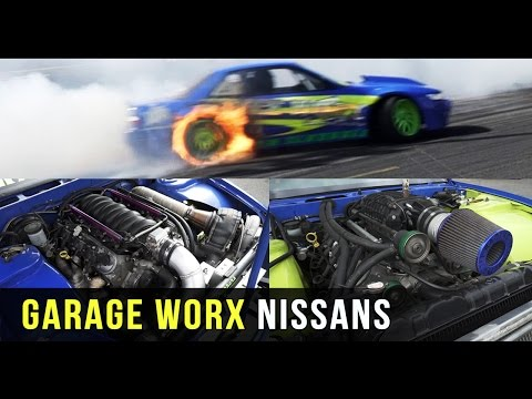 TURBO vs SUPERCHARGER | Garage Worx Nissans