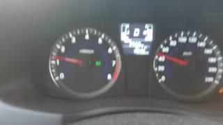 переключение передач Hyundai Solaris 1,6 с АКПП 6 ступеней